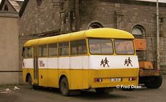 Bus Eireann SS736 (736ZI). (Fred Dean Jnr) Tags: buseireann bedford vas5 ss736 736zi zi broadstonedepotdublin february1998 schoolbus busscoile vanhool mcardle msl broadstone dublin buseireannbroadstonedepot
