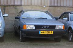 1986 Audi 100 (Dirk A.) Tags: 64szn5 sidecode7 1986 audi 100