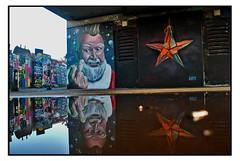STREET ART by WOSKERSKI & AIRBORNE MARK (StockCarPete) Tags: woskerski airbornemark streetart londonstreetart urbanart graffiti shoreditchart london uk