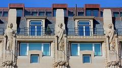 Porto aliados windows and statues (patrick555666751 THANKS FOR 6 000 000 VIEWS) Tags: porto aliados windows statues fenetre finestre ventana fenster portugal oporto europe europa dwwg architecture atlantic atlantique atlantico portus cidade invicta patrick55566675 janelas