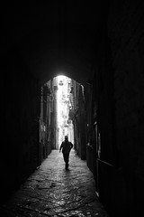 The Streets of Napoli (Marcosari) Tags: 7artisans 25mm 18 7artisans25mm18 black white photography street napoli naples italy italia centro storico light shadows a6000 sony mirrorless manual focus streets canon pixma 6820 ix6820
