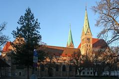 Der Augsburger Dom - Augsburg Cathedral (Wolfgang Bazer) Tags: augsburger dom hoher mariä heimsuchung augsburg cathedral kirche church schwaben swabia bayern bavaria deutschland germany
