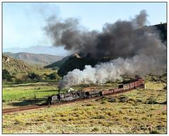 GMA Garratt No. 4072 at Kandelaars, South Africa. (johncheckley) Tags: railway train garratt steam clag southafrica