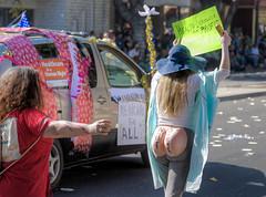 Cover Your Farce (Non Paratus) Tags: 41st doodahparade parade 2018 pasadena people