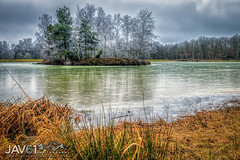 Frosty Winter wonderland_0706 (George Vittman) Tags: landscape water frozen marsh panorama winter nikonpassion naturephotography jav61photography jav61 fantasticnature