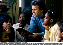 """Reading_To_Class_1 (hoffman) Tags: black book child classroom culture diversity education ethnic ethnicallydiverse ethnicities ethnicity female horizontal indoors mixedcultures multicultural multiethnic multiracial race racialdiversity raciallydiverse reading school story teacher teaching young youth biracial mixedethnicity ethnicmixture mixedethnicities ethnicmix multiracialgroup multiethnicgroup interracial 181112patchingsetforimagerights davidhoffman wwwhoffmanphotoscom london uk davidhoffmanphotolibrary socialissues reportage stockphotos""""stock photostock photography"""" stockphotographs""""documentarywwwhoffmanphotoscom copyright"""