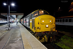 37403 at Norwich prior to working 2J88 1902 Lowestoft 17/1/2019 (Paul-Green) Tags: class 37 374 37403 37407 norwich drs aga abellio greater anglia direct rail canon camera flickr