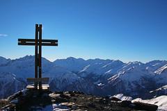 Auf dem Schareck (Struppey) Tags: österreich schareck hohen tauern berg gipfelkreuz gipfel schnee winter