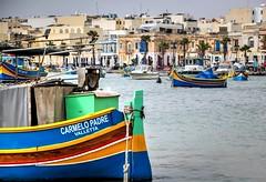 Carmelo Padre (Siuloon) Tags: boot marsaxlok malta luzzu eye color łódka ship canon tamron malte mer luzu water waterfront boat vehicle outdoor