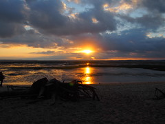 sunset (evablanchardcouet) Tags: sunset andernos plage beach outside nature olympus