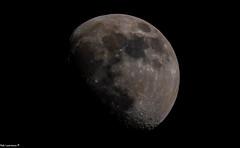 """Tonights Moon (18.43hrs 16/03/2019) From Austria. (Rab,Driver of P300NJB @Grampian Continental..) Tags: """"nikonflickraward"""" moon d850 200500mm 200500mmf56nikon handheldshot nikon fx nikonfx"""