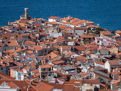 The rooftops of Piran (802701) Tags: 2019 201903 43 em1 em1markii em1mkii europe mft march march2019 micro43 omd omdem1 olympus olympusomdem1 olympusomdem1mkii piran republicofslovenia republikaslovenija slovenia slovenija fourthirds microfourthirds mirrorless photography travel travelling