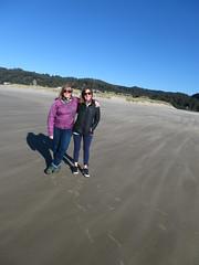 beach buddies (carolyn_in_oregon) Tags: cannonbeach oregon pacificocean gina me