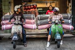 Ready - Set - GO! (Goran Bangkok) Tags: chinatown vespa bangkok thailand motorbike street streetphotography racing