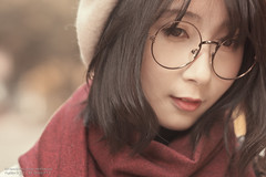 ML 美玲 (Francis.Ho) Tags: ml 美玲 xt2 fujifilm girl woman female femme lady portrait people beauty pretty lips eyes hair face chinese elegant glamour young sensuality fashion naturallight cute goddess model asian daylight sunlight outdoor glasses hat