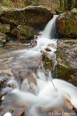 Waterfall (gillesfrancotte) Tags: 2018 amblève ardennes aywaille chefna d800 december décembre nikon outdoor quarreux stoumont cascade creek eau fall hiver landscape longexposure nature rocks stream torrent water waterfall waterscape winter