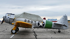 North American SNJ-5 (Norman Graf) Tags: aircraft airplane airshow n3265g snj5 2017thunderovermichigan snj northamerican 91049 at6 harvard plane tom texan trainer wwii warbird