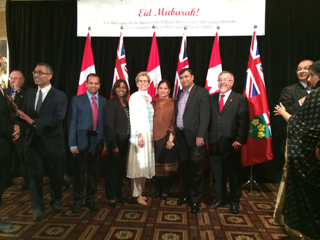 Eid Dinner with Premier Wynne