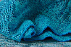 Macro Mondays (Janos Kertesz) Tags: macromondays microfibercloth background blue texture material textile abstract pattern clothing color design fabric soft macro cloth
