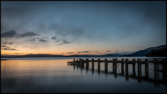 Morning Glow on Loch Lomond (Renton Lad) Tags: abigfave scotland nikkor2470mmf28 sunrise lochlomond nikond850 trossachs landscape lake loch sallochybay thescottishcentreforecologyandthenaturalenvironment