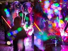 LED Gadget Craze (pni) Tags: diptych multiexposure human people being person kid child blur focus bokeh light bubble multipleexposure tripleexposure helsinki helsingfors finland suomi pekkanikrus skrubu pni pni3xp