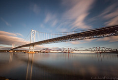 bridges-3 (colinthefrog1) Tags: queensferry scotland bridges forth water clouds