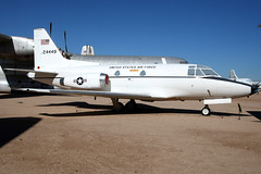 United States Air Force | North American T-39A Sabreliner | 62-4449 | Pima Air & Space Museum (Dennis HKG) Tags: aircraft airplane airport plane planespotting bizjet businessjet military airforce usaf usairforce unitedstatesairforce sabreliner t39 northamerican sbr1 624449