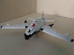Lego SDP Mk. 3 Tyrant Kite UCAV (Parm Brick) Tags: lego drone ucav moc mod afol legobrick military modern warfare battlefield aviation army stealth vehicle jet aircraft combat air militaryaviation