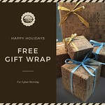 TODAY ONLY! Free Gift Wrapping. 🎁 Save yourself the time and hassle of making your gifts pretty - let us wrap them for you!  Place your order by the end of the day and gift wrapping is FREE!  We designed our own gift wrap, a creative illustrative sho thumbnail