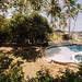 Swimming pool facing the beach at Punta Bulata