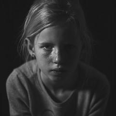 Moody studio portrait (PascallacsaP) Tags: studio portrait studioportrait moody captureonepro offcameraflash blackandwhite monochrome dark shadow tonality subtle tones lowcontrast freckles nissindi700a nissin nissincommanderair1 jjc softbox noir flash singleflash fadedshadows faded hss highspeedsync