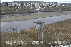 阿賀野川山科ライブカメラ画像. 2018/12/16 14:04 (River LiveCamera) Tags: id748 rivercode8404020001 ym201812 阿賀野川 山科 ymd20181216