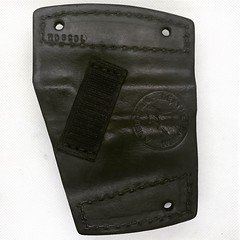 Colt 1911 Car Holster Back (americanleathersmith) Tags: carholster leatherholster gunholster concealcarry holster mounted leather
