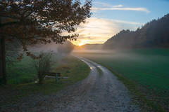... quiet place ... (Geronimo52) Tags: fog nebel krauchthal autumn herbst autunno silence ruhe