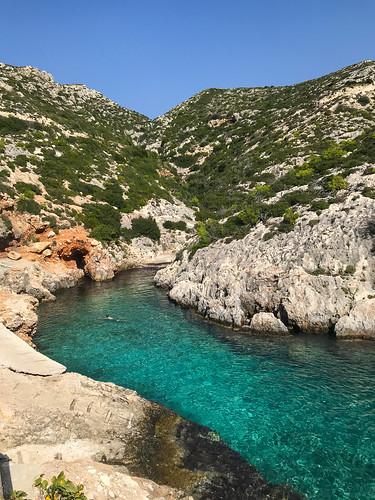 Porto Limnionas bay Zakynthos, Greece