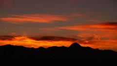 Burning skyline 2 (An Arzhig) Tags: cloud clouds sunset nuage nuages montagne montagnes mountain mountains pyrénées occitanie france pic du midi panasonix lumix gx800 red rouge