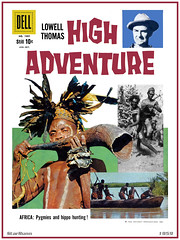 High Adventure  No. 1001  Aug. - Oct., 1959 (StarRunn) Tags: highadventure lowellthomas comicbook dell dellcomics tv tvseries 1950s africa africans