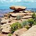 Balanced Rock, Gooseberry Canyon Overlook, Canyonlands National Park