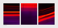 Skate (Stuart Leche) Tags: abstract intentionalcameramovement lights orange purple red icm tryptic