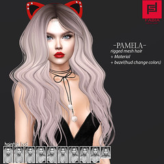 Pamela (FABIA.HAIR) Tags: 3d fashionlook fashion virtual virtuallife mesh meshhair hair rigged beauty look piktures fabia nice meef head special sl second secondlife sweet event hairstyle style life lovely avatar spam shopping new release best love everyday art shop women locks girl