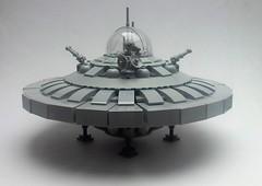 Martian U.F.O. V2 (KW_Vauban) Tags: martianspaceship ufo alien mars lego moc