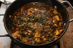 Curried Kale Red Potato Stew (detopics) Tags: athompson bandeto cooking food stew soup soups potato kale foodporn