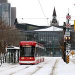 TTC 510 tram on Spadina Avenue thumbnail