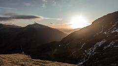 DSC_8604-Pano-(edit)- (AJ Charlton Photography) Tags: nikon d750 cameras camera image photography landscape mountains mountain mount snowdon snowdonia wales north uk snow misty mist cloud nature aj charlton ajc sky mountainside people photo tents camping hiking sunrise sun rise beautiful llanberis path