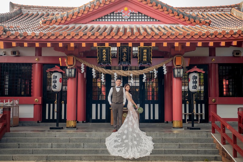 沖繩,沖繩婚紗,沖繩婚紗攝影,海外婚紗,海島婚紗,波上宮,沖繩拍攝景點,自助婚紗
