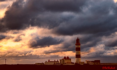 Point of Ayre Lighthouse (red.richard) Tags: point ayre lighthouse isle man maritime sea shore sky clouds