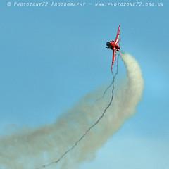 8533 R7 wingtip streamers (photozone72) Tags: raf rafat redarrows reds redwhiteblue aviation aircraft jets hawk scampton lincolnshire canon canon7dmk2 canon100400f4556lii 7dmk2