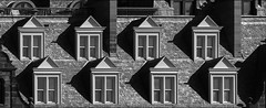 Pick a window. (scrimmy) Tags: scotland standrews window blackandwhite monochrome