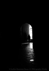 (Luther Roseman Dease, II) Tags: light darkness human element doorway depth framing form