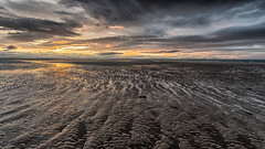 sunset at Findhorn beach (Stefan Giese) Tags: nikon d750 schottland scotland findhorn beach strand hdr wolken clouds sunset sonnenuntergang moraycoast lightstallker lightstalkeradventures
